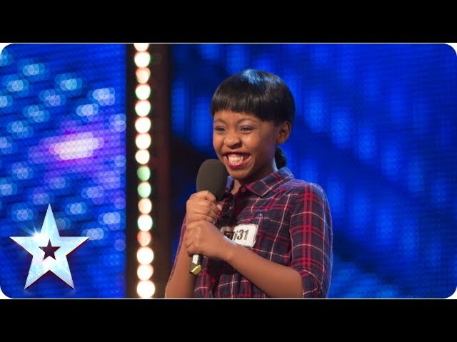 Asanda Jezile the 11yr old diva sings Diamonds - Week 3 Auditions | Britains Got Talent 2013