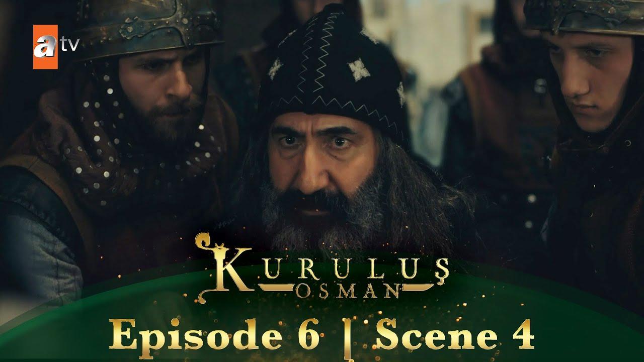 Kurulus Osman Urdu   Episode 6 - Scene 4   Tursun ko ghiriftar kar liya gaya.