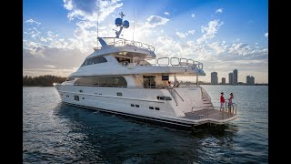 Horizon Yachts P110 Superyacht Running