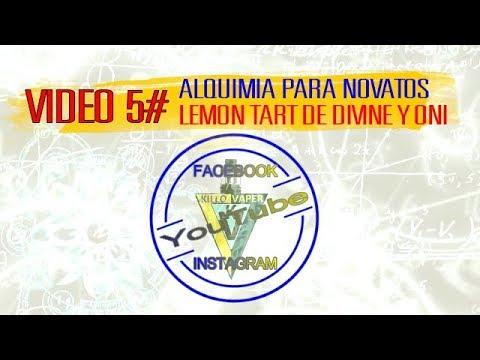 ALQUIMIA PARA NOVATOS!!!!(Lemon tart de divine y Oni.(EN ESPAÑOL)#VIDEO 5#