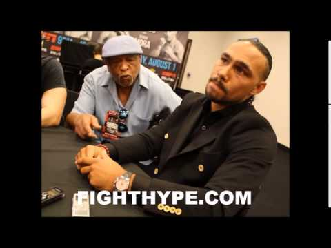 KEITH THURMAN RECALLS BODY SHOT LANDED BY LUIS COLLAZO AND LESSON LEARNED