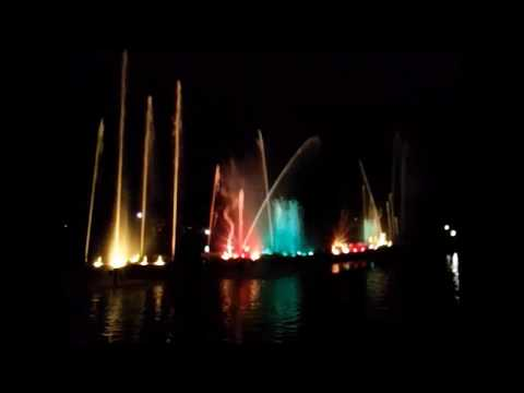 Jawahar Circle Musical fountain Laser Show , Jaipur