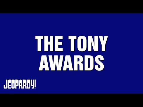 TONY AWARDS category on Jeopardy!