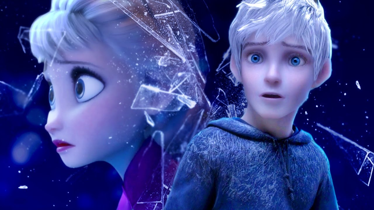 Elsa And Jack Frost Faded Youtube