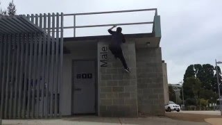 Parkour/FreeRunning (Sandy Bay TAS)