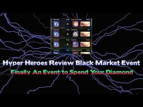 Hyper Heroes Review Black Market Event