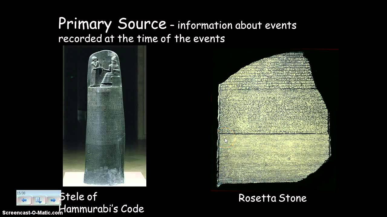 What is a historical source 48