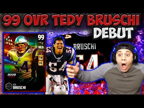 PRIME TIME WITH THE PICK 6! (99 TEDY BRUSCHI GAMEPLAY) - MADDEN 17 ULTIMATE TEAM