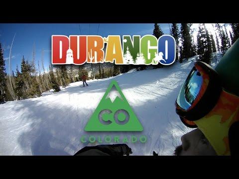 Snowboard Visit to Durango Colorado - Travel Vlog Part 1 (The Trip Begins)