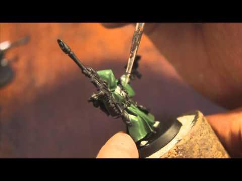 40k How to Paint Biel-Tan Eldar Ranger - Part 1 of 3