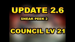 Council lv 21 coming in update 2.6 in NML Get FREE GOLD/RADIOS with...