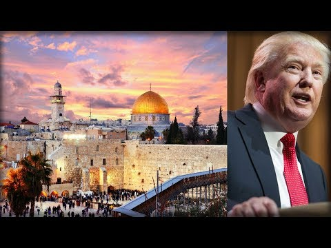 FOLLOWING TRUMP EMBASSY DECISION, PEOPLE INSTANTLY SPOT SOMETHING NEW IN JERUSALEM