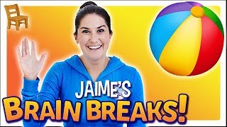 Jaime's Brain Breaks | 9. Sit and Stretch