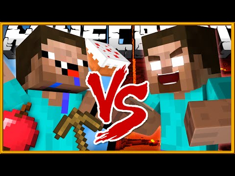 Thumbnail: Noob vs Herobrine - Minecraft