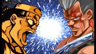 [TAS] Khan VS Anubis Polnareff (Jojo's Bizarre Adventure: Heritage For The Future)