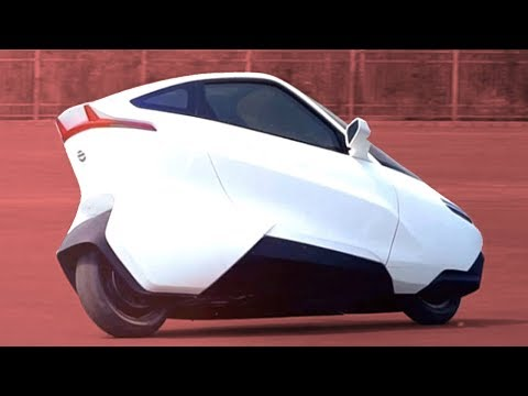 Self Balancing Motorcycle of the Future is more like a car