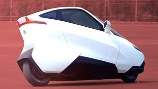 Download Self Balancing Motorcycle of the Future is more like a car Mp3 and Videos