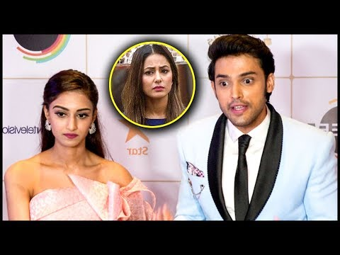 Erica Fernandes REACTS On Fight With Hina Khan | Indian Telly Awards 2019