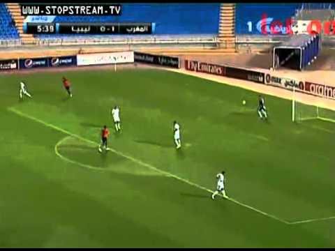 Libya 1 - 1 Morocco Arabian Cup final 2012