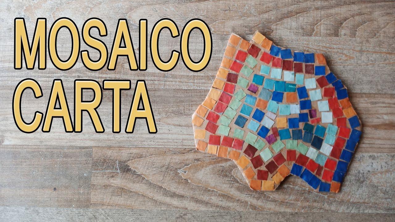 Come Costruire Un Mosaico colorare disegni per bambini: mosaico di carta, arteterapia per tutti -  arte green