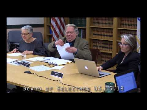 Board of Selectmen 03.05.18