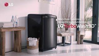 Lavadora LG TurboWash 3D | Manchas lavables, recuerdos inolvidables.
