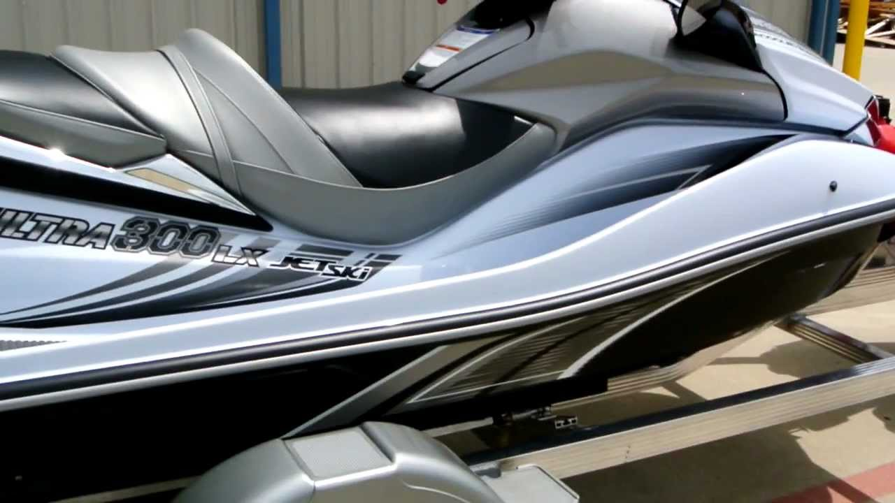 Overview and Review: 2012 Kawasaki Ultra 300LX JetSki - YouTube