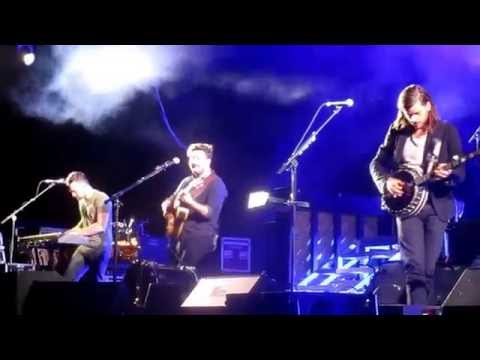 Mumford and Sons - Blind Leading the Blind (New Song) in Albuquerque, NM