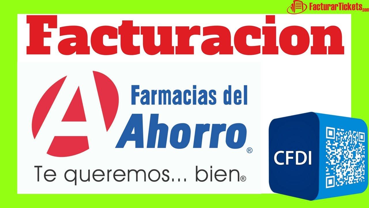 Facturacion farmacias del ahorro