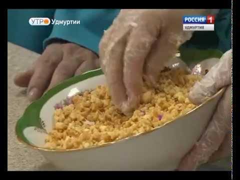 Татарское блюдо Губадия от  Ильсии Мухаметшиной