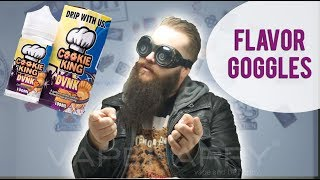 Flavor Goggles: DVNK eLiquid by Cookie King ft VapeMalone