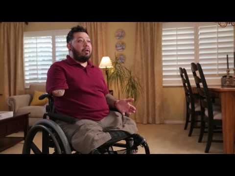 Injured veteran offers a reminder to Americans