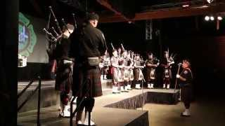 SEATTLE FIREFIGHTERS PIPES & DRUMS TAKE THE STAGE - MzLizVids