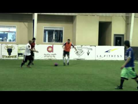 Deka's A-4 Employees Playing Soccer.
