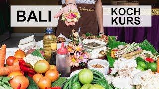 KOCHEN mit INDONESICHER FAMILIE & TRADITIONELLER MARKT in UBUD l Bali Geheimtipps