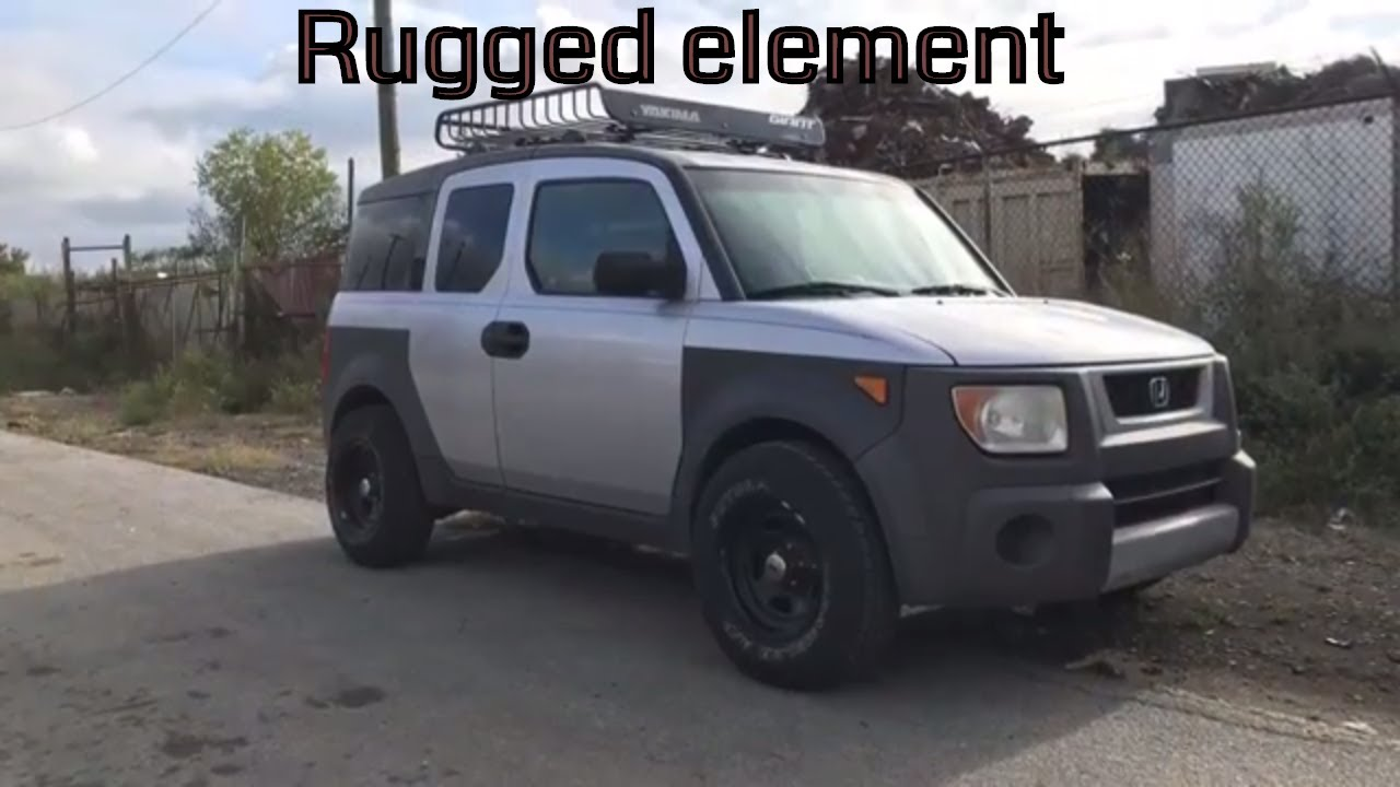 2003 Honda Element Rugged Look Youtube
