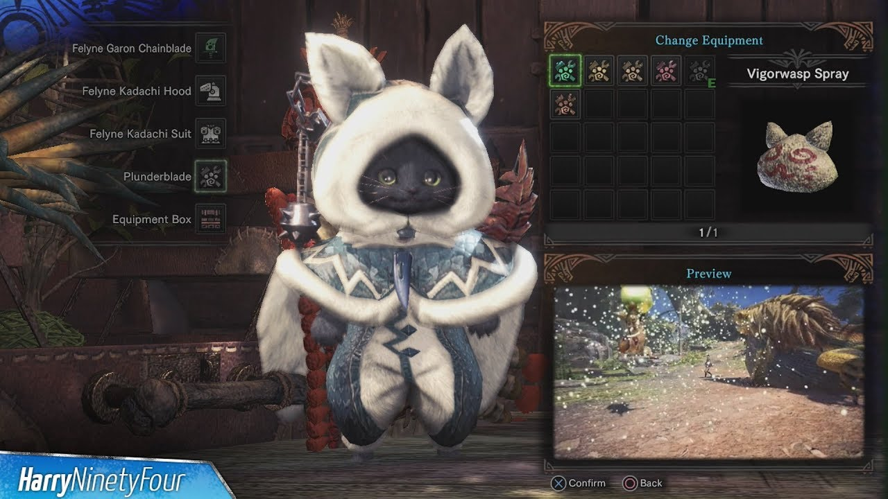 Monster Hunter World All Palico Gadget Locations Guide Youtube