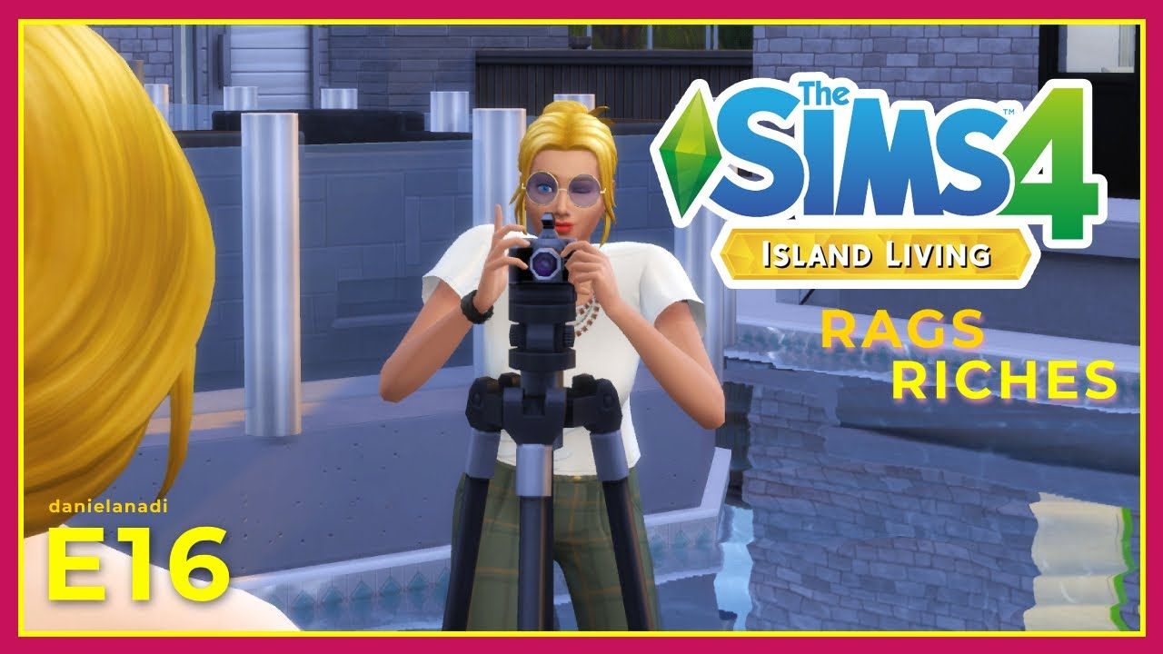 Scarlett jadi photographer  | #16 | TheSims 4 Rags To Riches Indonesia
