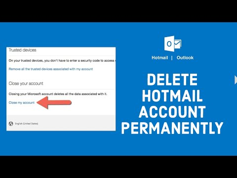 How to Delete Hotmail Account Permanently?