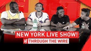 Ranking Top 50 NBA Players Live In NYC | Through The Wire Podcast