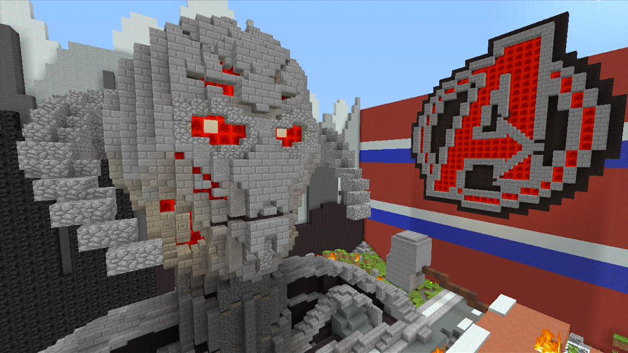 Minecraft Xbox Avengers 2 Age Of Ultron Hide N Seek Youtube