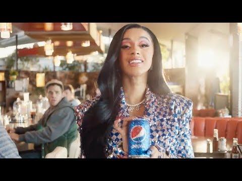 First Look At Cardi B's HILARIOUS Pepsi 'OKURRR' Superbowl Commercial With Steve Carrel! Mp3