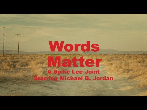 Papa Keith - Coach's 'Words Matter' Directed by Spike Lee Featuring Michael B. Jordan