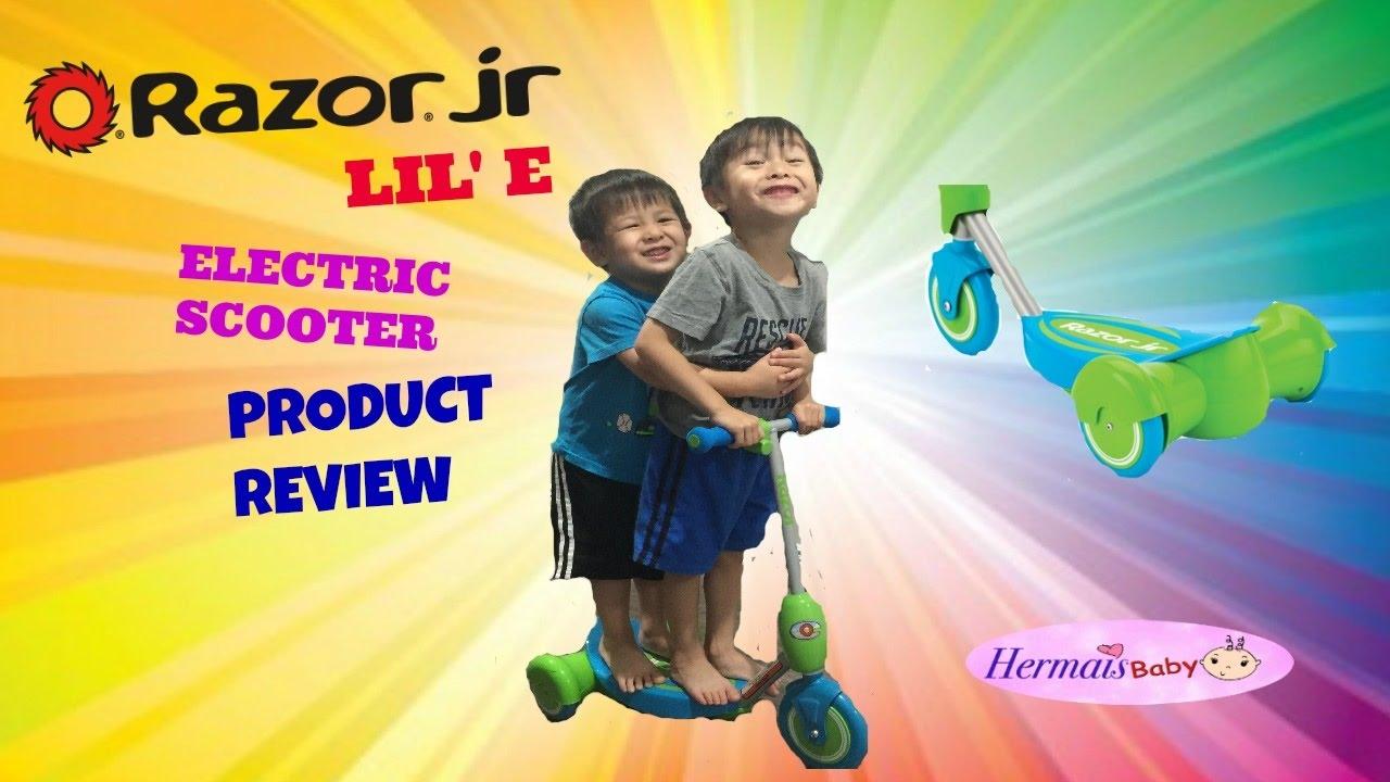Razor Jr Lil E Electric Scooter Kids Fun Ride On Toy