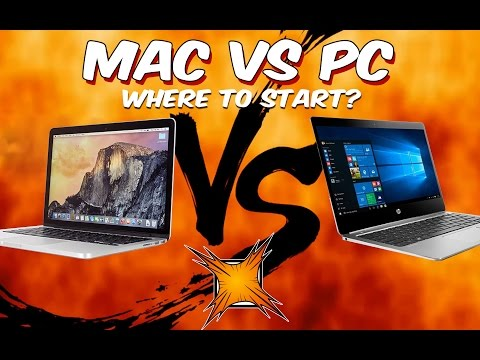 Mac vs PC, where should creatives start?