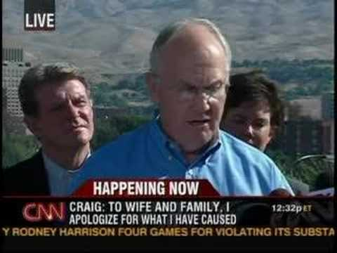 SEN. LARRY CRAIG RESIGNS