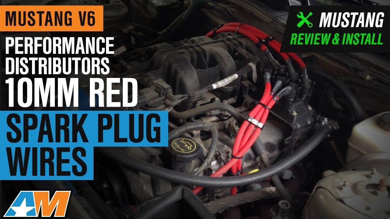 Performance Distributors Livewires 10mm Spark Plug Wires - Red (05-10 V6)