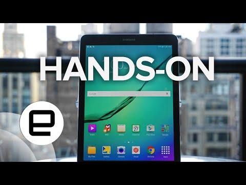 Galaxy Tab S2 Hands-On