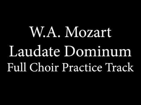 Full Choir Demo - Laudate Dominum - Mozart