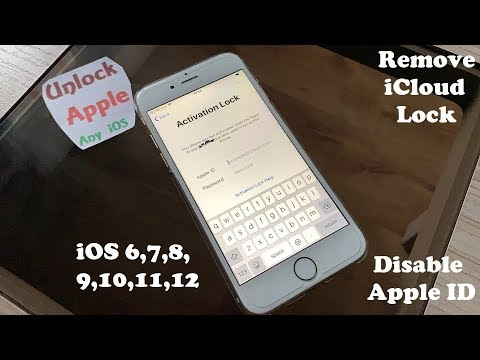 Bypass iCloud Activation Lock!!! Remove Apple Account Disable ID without DNS/Tool✔